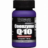 Ultimate Nutrition Coenzyme Q10  30 капсул